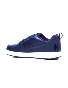 Zapatillas Unisex Nike COURT BOROUGH LOW MARINO GS