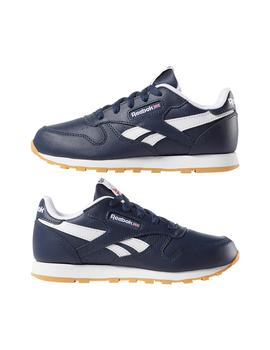 Zapatillas de Niño Reebok CLASSIC LEATHER AZUL