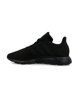 Zapatillas de Niño ADIDAS SWIFT RUN J NEGRO