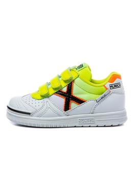 Zapatillas de Niño G3 KID VCO BLANCO/AMARILLO