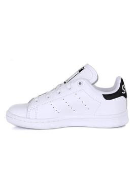 Zapatillas de NIÑO STAN SMITH C BLANCO NEGRO