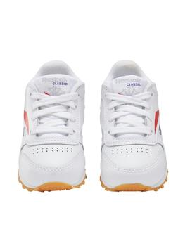 Zapatillas de Niño CLASSIC LEATHER INF BLANCO LOGO