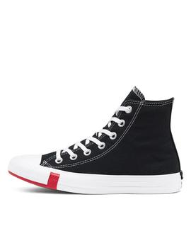 zapatilla converse all star hi black university.