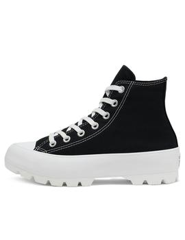 converse all star ctas lugged hi negro de mujer.