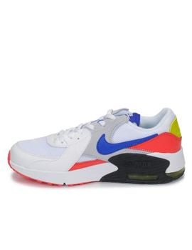 Zapatilla nike air max excee gs banco rojo azul junior