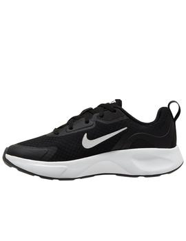 Zapatillas nike wearallday negro unisex.