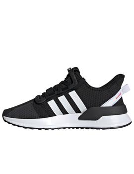 Zapatillas adidas u path run j negro de niño.