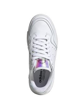 Zapatillas asidas supercourt j blanco brillo