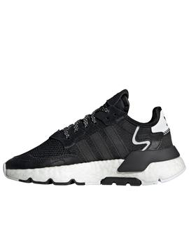 Zapatillas adidas nite jogger junior negro.